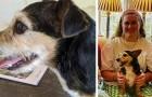 Eine Frau findet wie durch ein Wunder den kleinen Hund, der 10 Jahre zuvor aus ihrem Garten verschwunden war