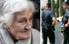 Uma mulher de 90 anos não comia há 12 horas e não tinha mais comida e nem dinheiro: a polícia paga o almoço e faz as compras para ela