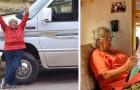 Aos 83 anos decide mudar de vida e começa a viajar num trailer: