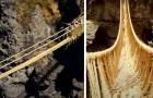 Crolla un ponte Inca di oltre 500 anni fa: le tribù locali lo ricostruiscono intrecciando la corda