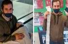 Dieser Vater verteilte seinen Lebenslauf mit seinem Baby auf dem Arm: Eine Frau änderte dank sozialen Netzwerken sein Leben