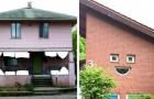 16 case dalle sembianze umane che sembrano guardarci con le espressioni più stravaganti