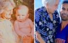 Une grand-mère fête ses 99 ans et son petit-fils lui offre une photo de lui enfant :