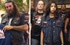 Eine Gruppe Biker setzt sich ein, um Kindern zu helfen, die Opfer von Gewalt wurden, indem sie sie ins Gericht begleitet