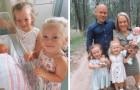 Ehepaar mit Zwergenwuchs hat drei Kinder, das letzte wurde mit