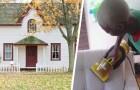 Donna delle pulizie scoppia in lacrime: i suoi datori di lavoro le regalano la casa in cui lavora da anni