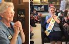 Alte Hausmeisterin hatte nie eine Geburtstagsfeier: Ihre Schule bereitet ihr eine wunderschöne Überraschung