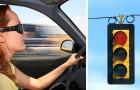 Il fidanzato la lascia per un'altra: lei prende la sua auto e passa 49 volte col semaforo rosso