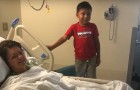 A 6-year-old boy saves his teacher's life during a lesson