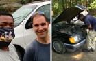 Arregla autos viejos y los regala a quien tiene necesidad: