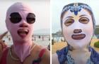 Facekini: das Gesichts-
