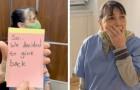 Una empleada doméstica estalla en lágrimas cuando descubre que le han regalado un ático en el edificio donde trabaja hace 20 años