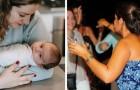 Ela dá à luz a um bebê sem perceber que estava grávida: