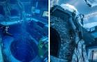 Apre a Dubai la piscina per immersioni più profonda del mondo: ospita una vera città sommersa