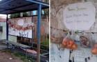 Obst und Brot in Tüten an Bushaltestellen: Eine großzügige Idee, um den Bedürftigsten in Brasilien zu helfen