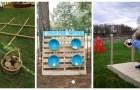 Jeux d'été dans le jardin : laissez-vous inspirer par de nombreuses idées super créatives