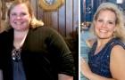 Mujer en sobrepeso decide perder casi 50 kg después de haber recibido la invitación para una reunión escolar