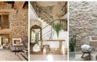 Intérieurs en pierre naturelle : laissez-vous inspirer par ces décorations de rêve pour une maison moderne et élégante