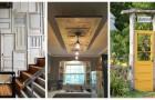 Des portes anciennes aux décorations pour la maison et pour le jardin : laissez-vous inspirer par ces nombreuses idées créatives