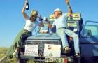 Questa coppia anziana ha visitato 177 paesi in 26 anni a bordo della loro automobile