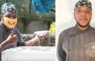 Un hombre sin hogar abre un restaurante con el dinero que ganó como repartidor y ofrece comida a los necesitados