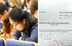 En student använder ett inkluderande språk på provet, läraren gillar inte det och betygsätter en