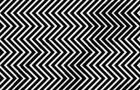 Arrivez-vous à voir quelque chose entre les lignes noires et blanches ? Mettez-vous à l'épreuve avec cette illusion d'optique