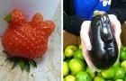 Het is niet wat het lijkt: 15 keer waarin groenten en fruit op elkaar lijken