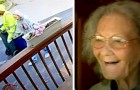 Vuilnisman helpt een gevallen oude dame overeind en er ontstaat een hechte vriendschap