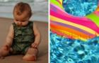 Bebé de un año se pierde en el mar y es encontrada con su flotador a un kilómetro y medio de la costa