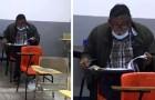 Ein Mann verwirklicht seinen Traum und schreibt sich an der Universität ein: Sein Foto im Klassenzimmer geht viral