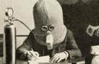 1925 schuf ein Erfinder diesen riesigen Helm, um die Konzentration zu fördern und Ablenkungen zu verhindern