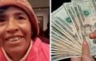 Turista pierde la billetera llena de dinero en las vacaciones: un hombre sin hogar lo encuentra y se lo devuelve a la dueña