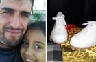 Er bietet Arbeit im Tausch für ein Paar Schuhe für seine Tochter an: Eine Frau schenkt sie ihm, ohne etwas im Gegenzug zu verlangen