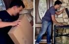 Il trucco facile e pratico per non lasciare che i ladri rubino i pacchi fuori la porta di casa vostra