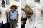 Il n'a pas d'argent pour payer l'opération et offre deux poulets à son médecin en signe de gratitude