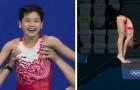 Vid 14-års ålder vinner hon guldmedalj i OS: