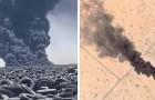 Der größte Reifenfriedhof der Welt brennt - Umweltkatastrophe befürchtet