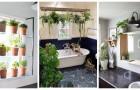 Décorez la salle de bain avec les plantes : choisissez les plus belles étagères parmi ces idées