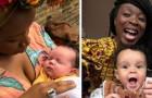 Cette maman noire réagit et fait taire ceux qui lui disent que sa fille est