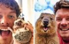Ce photographe se lie d'amitié avec tous les animaux qu'il rencontre et prend d'adorables selfies avec eux