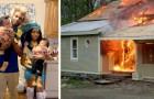 Un jeune papa saute dans les flammes pour sauver ses jumelles de 18 mois