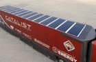 Due aziende sviluppano i container con pannelli solari per ridurre l'impatto ambientale durante il trasporto del cibo
