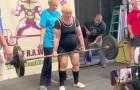 Eine 100-jährige Ururgroßmutter schlägt jeden Rekord und wird ein Champion im Gewichtheben