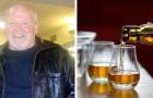 Hij verliest zijn gezichtsvermogen door wodka, maar krijgt het weer terug dankzij whisky: een ongelooflijk verhaal