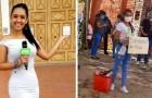 """Gedemütigte Journalistin antwortet auf Kritik, während sie auf der Straße Brote verkauft: """"Nur wer stiehlt, muss sich schämen."""""""