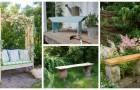 Rendez votre jardin plus pratique et plus agréable en ajoutant un banc, vous pouvez en construire un vous-même, grâce au DIY