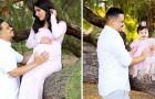 Hij brengt hulde aan zijn overleden vrouw door zijn dochter de jurk te laten dragen die de vrouw voor haar had gemaakt voordat ze overleed