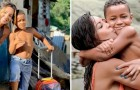 An actress adopts a child who lives in a landfill: