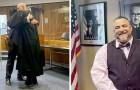 Il a risqué de passer 20 ans en prison pour trafic de drogue, il est maintenant devenu un avocat reconnu